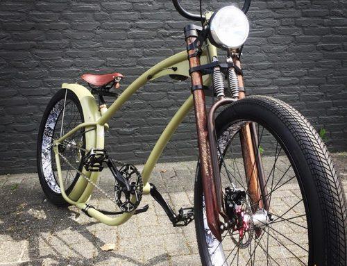 Ruff Cycles Hardtime handmade custom bycicle