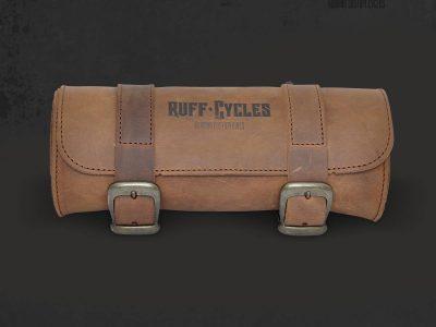 Tool Bag Leather Black - Ruff Cycles   Custom cruisers
